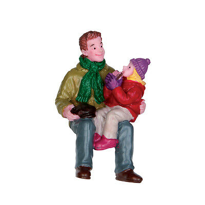 Donuts With Grandpa Lemax Christmas Village Figurine - New For 2016