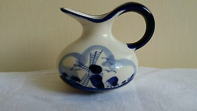 Small Jug Made In Holland. Blue Delft.