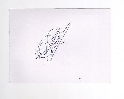 Partick Thistle Steven Lawless HAND SIGNED card