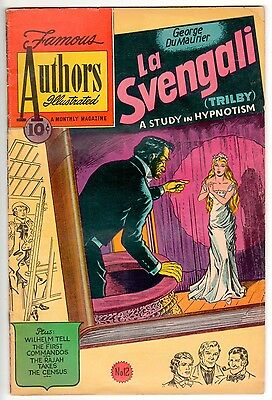 10c Stories by Famous Authors Illustrated #12  RARE Feb 1951 GOLDEN AGE Comics