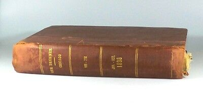 *estate* Rare 1898 Butler Brothers Our Drummer Chicago Hardcover Catalog