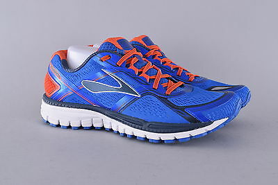 NEW Brooks Ghost 8 Trail Running Shoes | Men's 11US / 45EU | Blue/Red