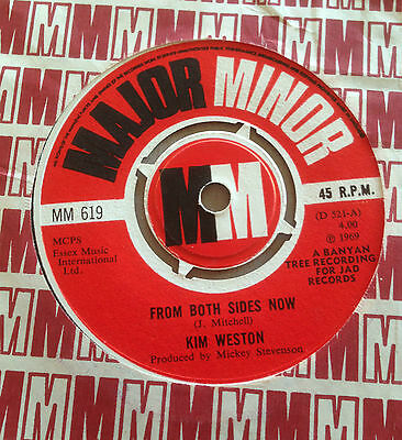 KIM WESTON From Both Sides Now UK 45