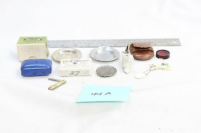 Vintage Estate Container Ad Art Lot Groves Cold Tablets Pharmacy boxes etc #44A