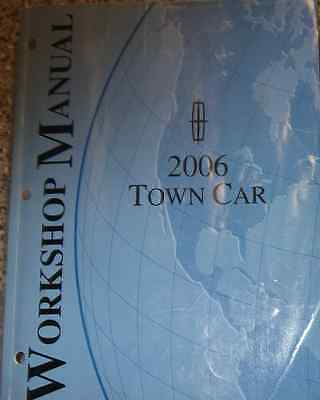 2006 FORD LINCOLN TOWN CAR Service Shop Repair Workshop Manual OEM Factory