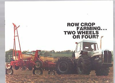 White Oliver Tractor 4X4 4 Wheel Drive 4-150 Field Boss Sales Brochure