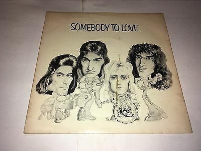"Queen Somebody To Love 7"" Single A1 B2"