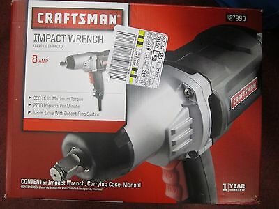 New! Craftsman – 27990 8 Amp Impact Wrench Electric Corded