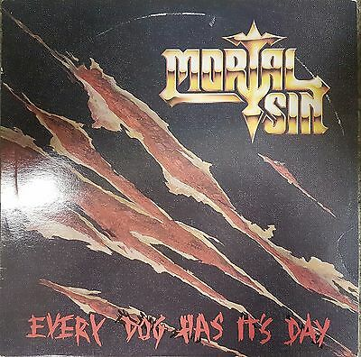 Mortal Sin Every Dog Has It's Day 12 Track Vinyl Album