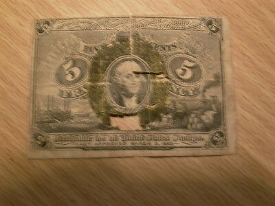 Early Usa Fractional Bank Notes