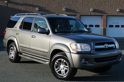 2006 Toyota Sequoia 4x4, Limited, Navigation, DVD, Leather, Sunroof! 2006 TOYOTA SEQUOIA LIMITED 4X4 V8 NAVIGATION LEATHER ROOF DVD CARFAX BEAUTIFUL!