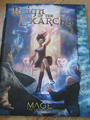 Wod The World Of Darkness Mage The Awakening Reign Of Exarchs Mta Vgc Hb Hc Rpg