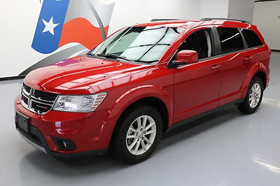 2015 Dodge Journey SXT Sport Utility 4-Door 2015 DODGE JOURNEY SXT 7-PASSENGER ALLOY WHEELS 32K MI #718615 Texas Direct Auto
