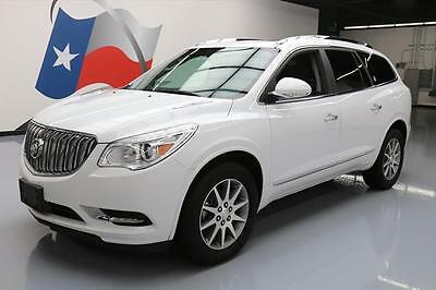 2016 Buick Enclave  2016 BUICK ENCLAVE LEATHER DUAL SUNROOF REAR CAM 32K MI #197881 Texas Direct