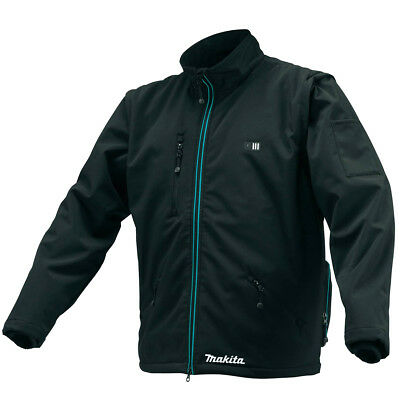 Makita CJ102DZXL 12-Volt Black Lithium-Ion Heated Jacket - Bare Tool - X-Large