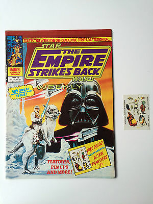 Star Wars Empire Strikes Back Weekly #118 with Free Gift NM Rare