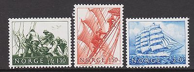 1981 NORWAY Tall Ships  NK 886-88  MNH
