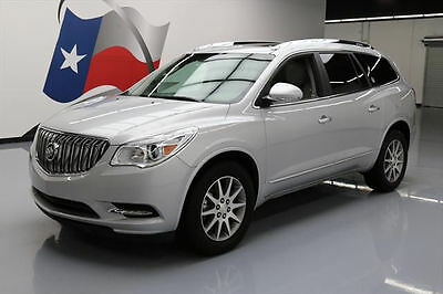 2016 Buick Enclave  2016 BUICK ENCLAVE LEATHER DUAL SUNROOF REAR CAM 40K MI #180532 Texas Direct