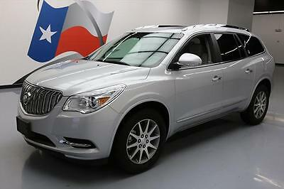 2016 Buick Enclave  2016 BUICK ENCLAVE LEATHER DUAL SUNROOF REAR CAM 28K MI #137636 Texas Direct