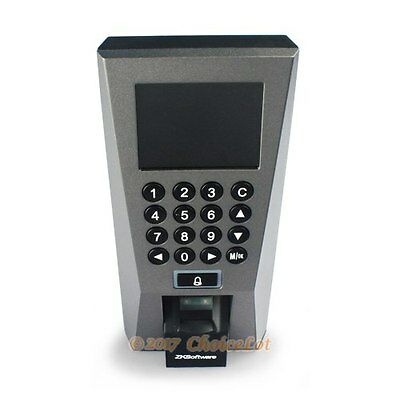 ZKSoftware Fingerprint Attendance Time Clock And Access Control With TCP/IP+ USB