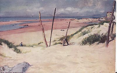 Barmouth Fine Old Water Colour View Postcard Tucks