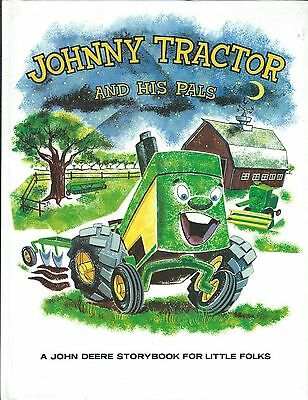 Farm Childrens Book - John Deere - Johnny Tractor and His Pals - 1988 (F5062)