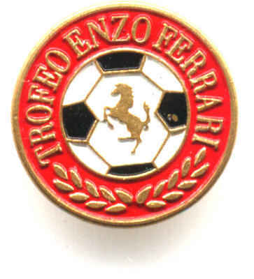 Trofeo Enzo Ferrari  Distintivo Pin Metallo E Smalti