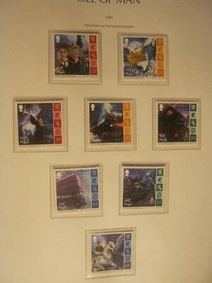 IOM UNMOUNTED MINT 2004 HARRY POTTER FACE £3..60p