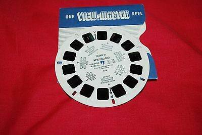 Early View Master Single  Reel Ref 255 Skiing In New England