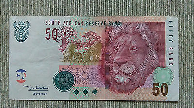 South Africa 50 rand 1999 P125c VF+
