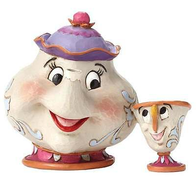 Disney Traditions Mrs Potts & Chip A Mothers Love Figurines New Boxed 4049622