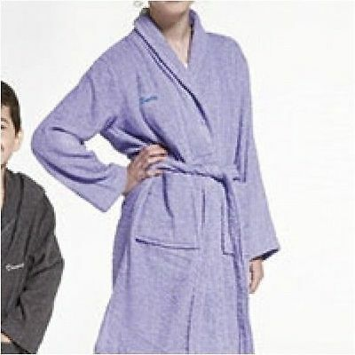 WHOLESALE DRESSING GOWN ROBE Kids  w/ Hood Lavender Purple Age 2/3 yrs x 10