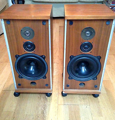 Paire  D'enceintes B&W Bowers & Wilkins DM4 Vintage speakers 1973 Made in uk