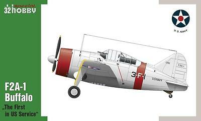 """SPECIAL HOBBY 32064 F2A-1 Buffalo """"The first in US Service"""" in 1:32"""