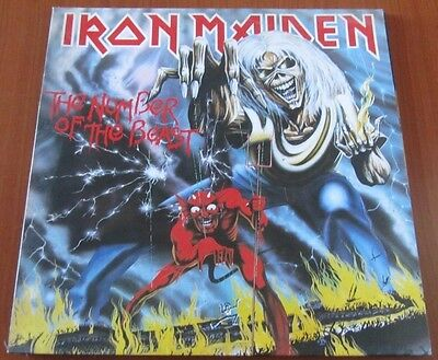 IRON MAIDEN: The Number of the Beast - Lp 1982 ITA