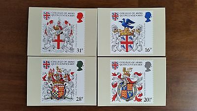 PHQ Postcards COLLEGE OF ARMS PHQ72