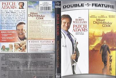 Dvd:  Double Feature:  2-Disc What Dreams May Come & Patch Adams.