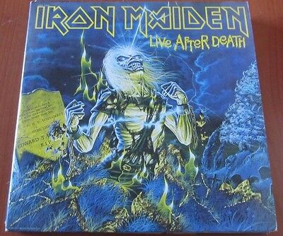 IRON MAIDEN: Live After Death - Lp 1985 CAN