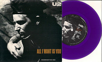 """U2 7"""" All I Want Is You AUSTRALIA Purple Ltd 100+120 Pages US Official Book Xtra"""