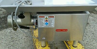 TORREY M22 R2 Meat Mincer. 2hp Larger than many 32 sized meat mincing machines