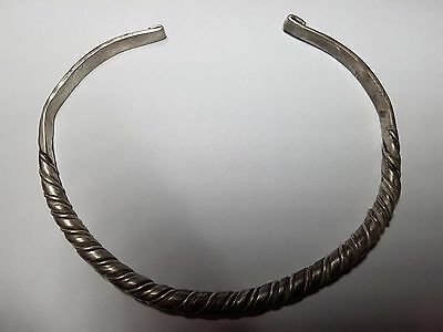 MASSIVE CELTIC  NECK TORC WITH CLASP 3rd-1st century BC