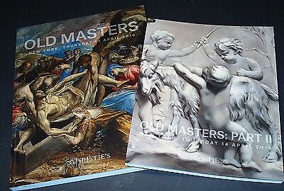 OLD MASTER PAINTINGS: 2 tolle Kataloge Christie's N.Y. 16 +results