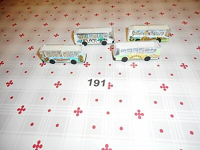 rare kinder ancien: Voiture ( Lot Bus D 1996 )