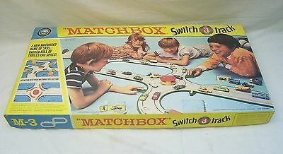 Vintage Matchbox M-3 Switch Track By Lesney Products & Co Ltd  - 1971