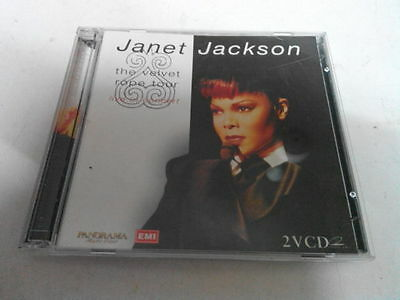 Janet Jackson - The Velvet Rope Tour Live (Malaysia 2-Vcds)