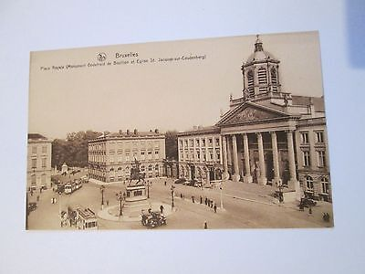 Postcard of Bruxelles, Place Royale unposted