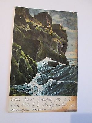 Postcard of The Isle of Man (?) posted 1906