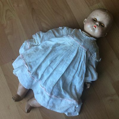 Vintage R&B  Composition Baby Doll 16""