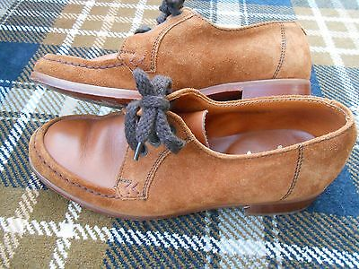 Lotus.Playbacks.Size 8.Vintage.Brown Leather Upper,Leather Soles.