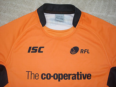 2XL  Rugby League Referee Shirt ISC